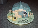 Horse and Stable Cake